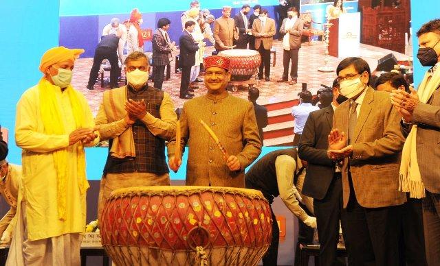 Lok Sabha Speaker Om Birla yesterday inaugurated Bharat Parv 2021