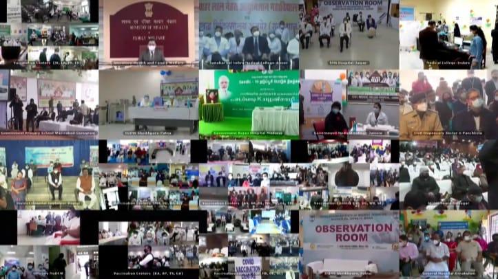 Modi launches World's largest COVID 19 Vaccination Program