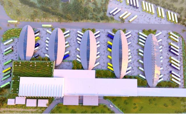 Netaji Bus Terminal in Cuttack