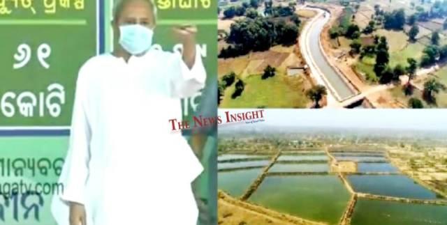 Odisha CM dedicates Indravati Mega Lift Irrigation Project in Kalahandi