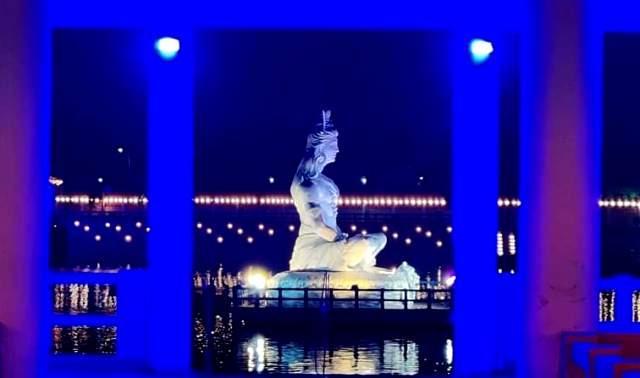 Odisha CM inaugurates Ramalingeswar Park in Berhampur