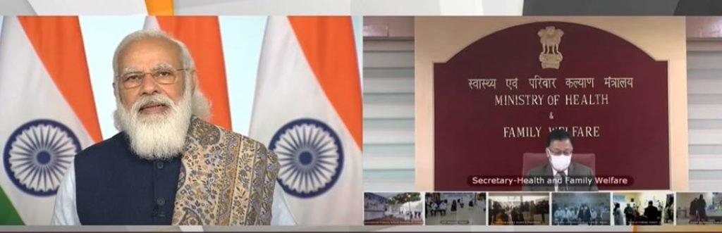 PM Modi launches World's largest COVID 19 Vaccination drve