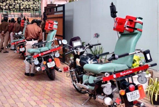RAKSHITA - a bike ambulance