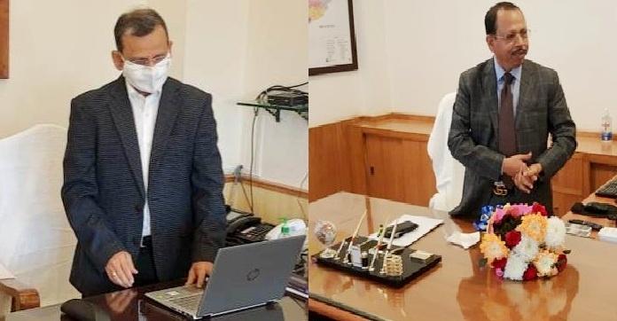 Suresh Mahapatra assumes charge as new Chief Secretary of Odisha