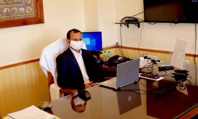 Suresh Mohapatra assumes charge as Chief Secretary of Odisha