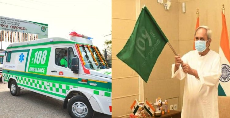Odisha CM Naveen Patnaik flags off 84 new 108 Basic Life Support Ambulances