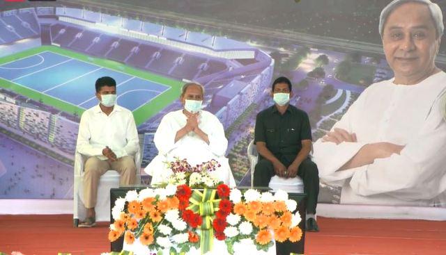 Odisha CM lays foundation stone for India's largest Hockey Stadium in Rourkela