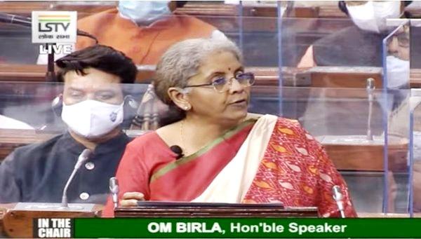 Nirmala Sitharaman-Union Budget 2021