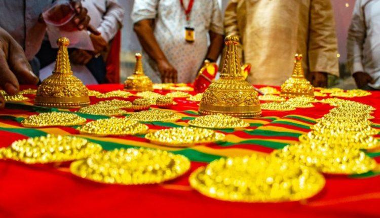 Puri Srimandir Gold Silver Ornaments