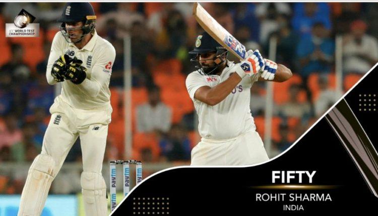 Rohit Sharma Motera Test