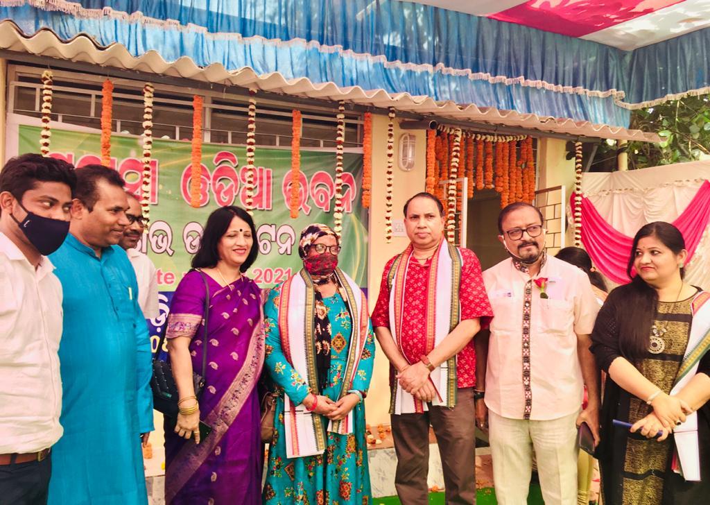 Prabasi Odia Bhawan inaugurated in Bhubaneswar