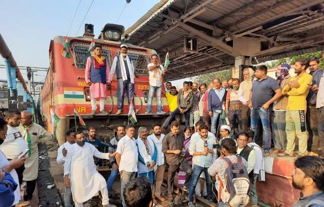 Rail Roko-Odisha Bandh