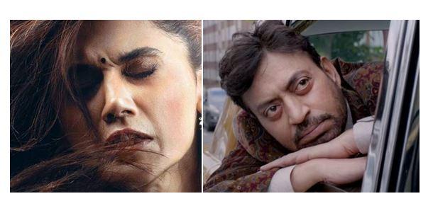 66th Filmfare Awards Winners-Irrfan Khan-Taapsee Pannu