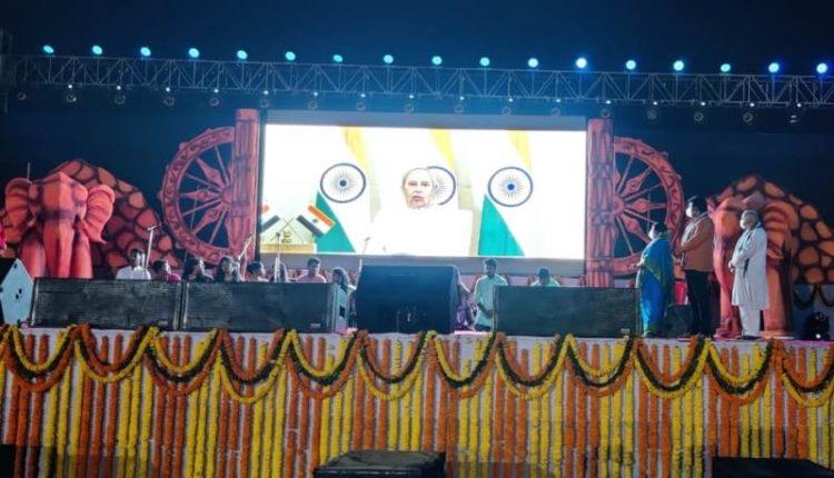 Odisha CM inaugurated the first Jaugada Heritage Festival at Jaugada - Copy