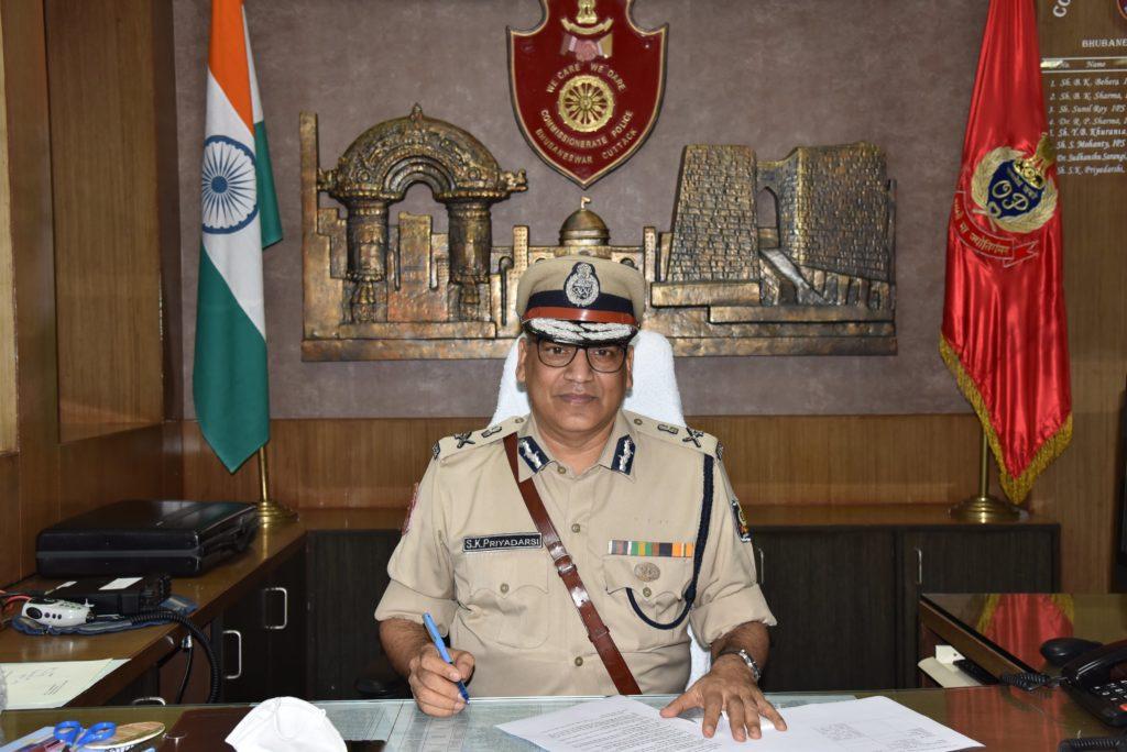 Saumendra Kumar Priyadarshi takes charge as Twin City (Bhubaneswar-Cuttack) Police Commissioner.