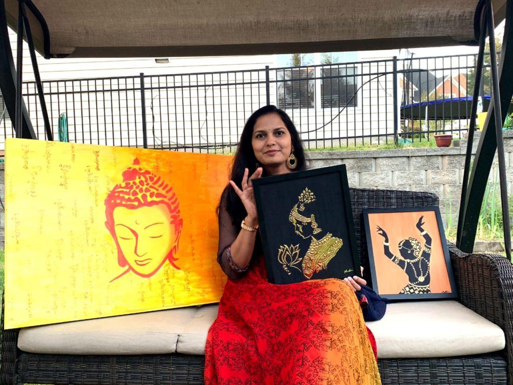 Indian-origin Artist, Madhuri Srikanth to display her works in Milan
