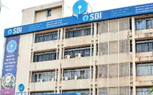 SBI Main Branch in Bhubaneswar Sealed
