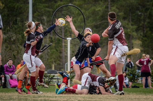 Real life Quidditch