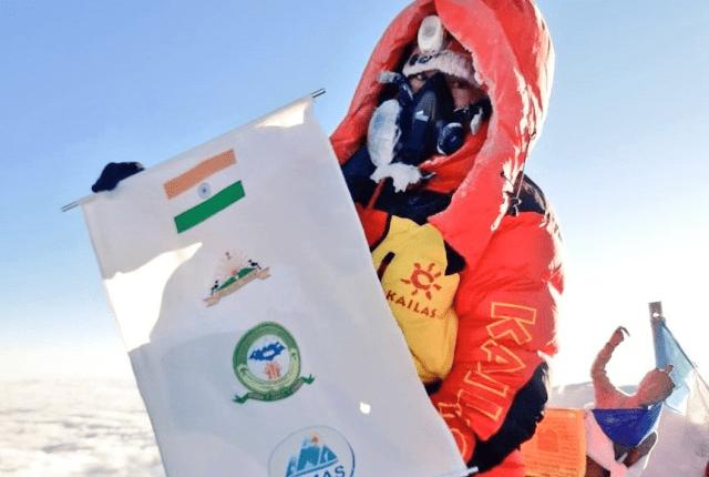 Arunachal Pradesh's Tashi Yangjom becomes the first Indian to climb Mt. Everest in 2021