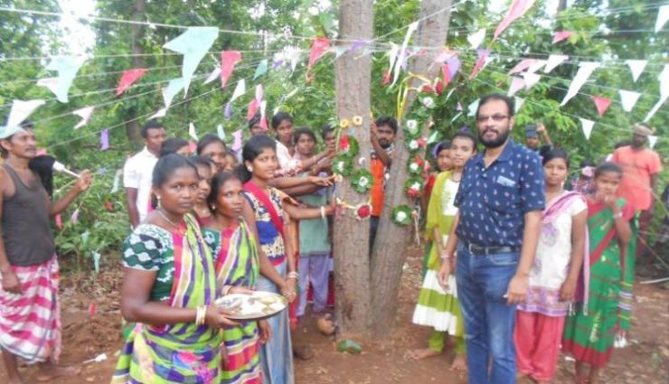 Bibekananda Pattnaik – Man who initiated Jungle Raksha Bandhan