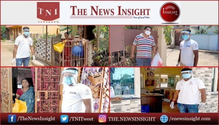 Jai Odisha steps into assist Covid +Ve Senior Citizens in Bhubaneswar