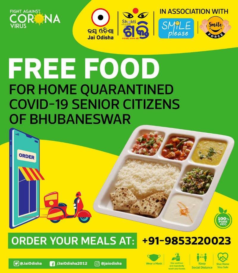 Jai Odisha Free Food Covid