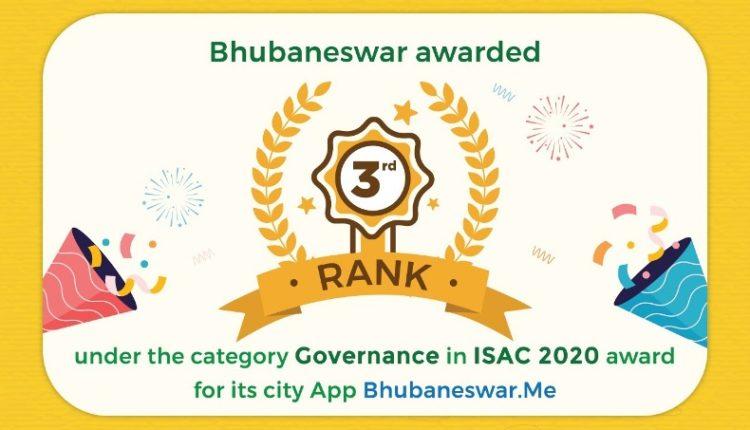 Bhubaneswar bags 2 Awards in India Smart City Awards Contest