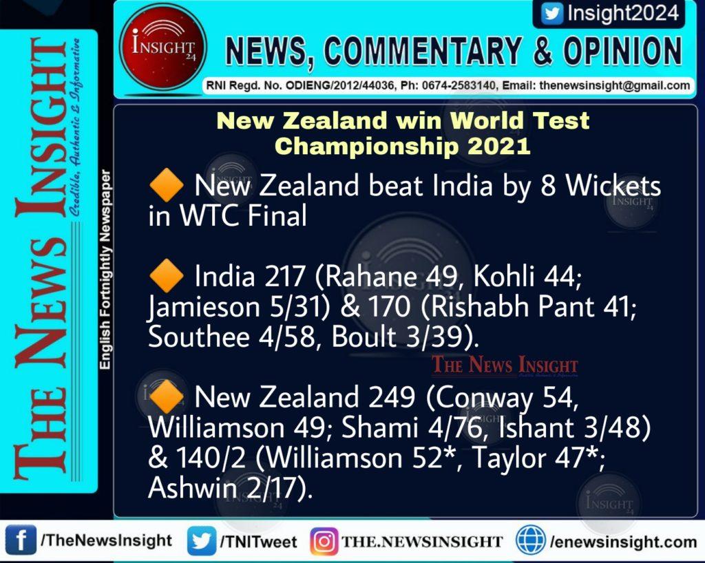 World Test Championship 2021