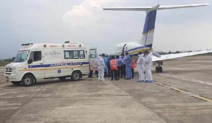 WATCH: Vigilance Director Debasis Panigrahi airlifted to Kolkata