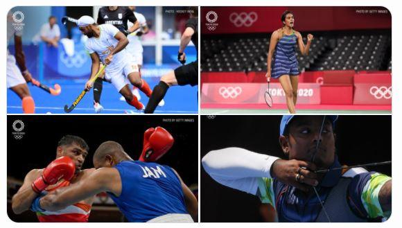 India At Olympics - Good News from Tokyo