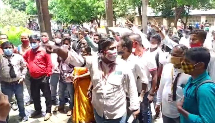 Kendrapara Journalists Protest Odisha