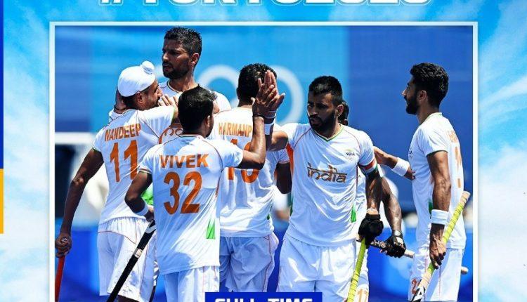 India beat New Zealand Hockey Tokyo Olympics