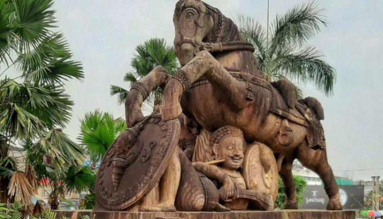Iconic Horse Replica Master Canteen Bhubaneswar