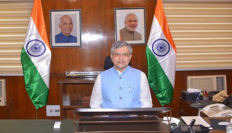 Rajya Sabha member from Odisha, Ashwini Vaishnaw takes charge as the new Railway Minister