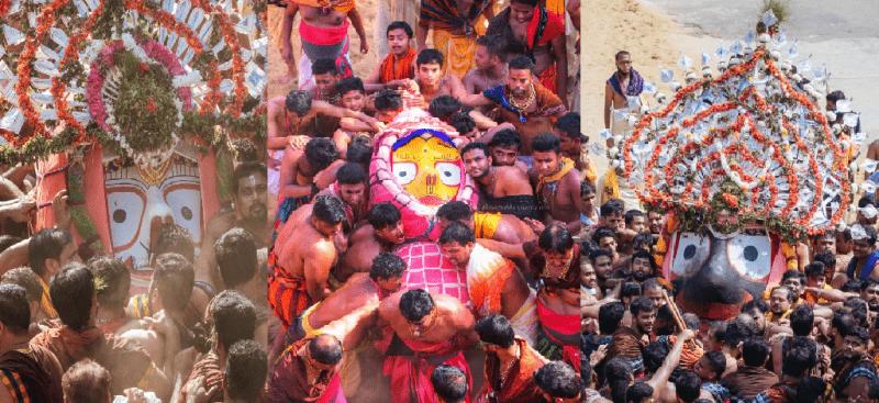 Bahuda Jatra, homecoming of deities from Gundicha Temple to Srimandir underway