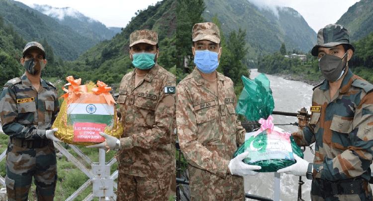 India, Pakistan exchange sweets along J&K border to celebrate Eid-al-Adha