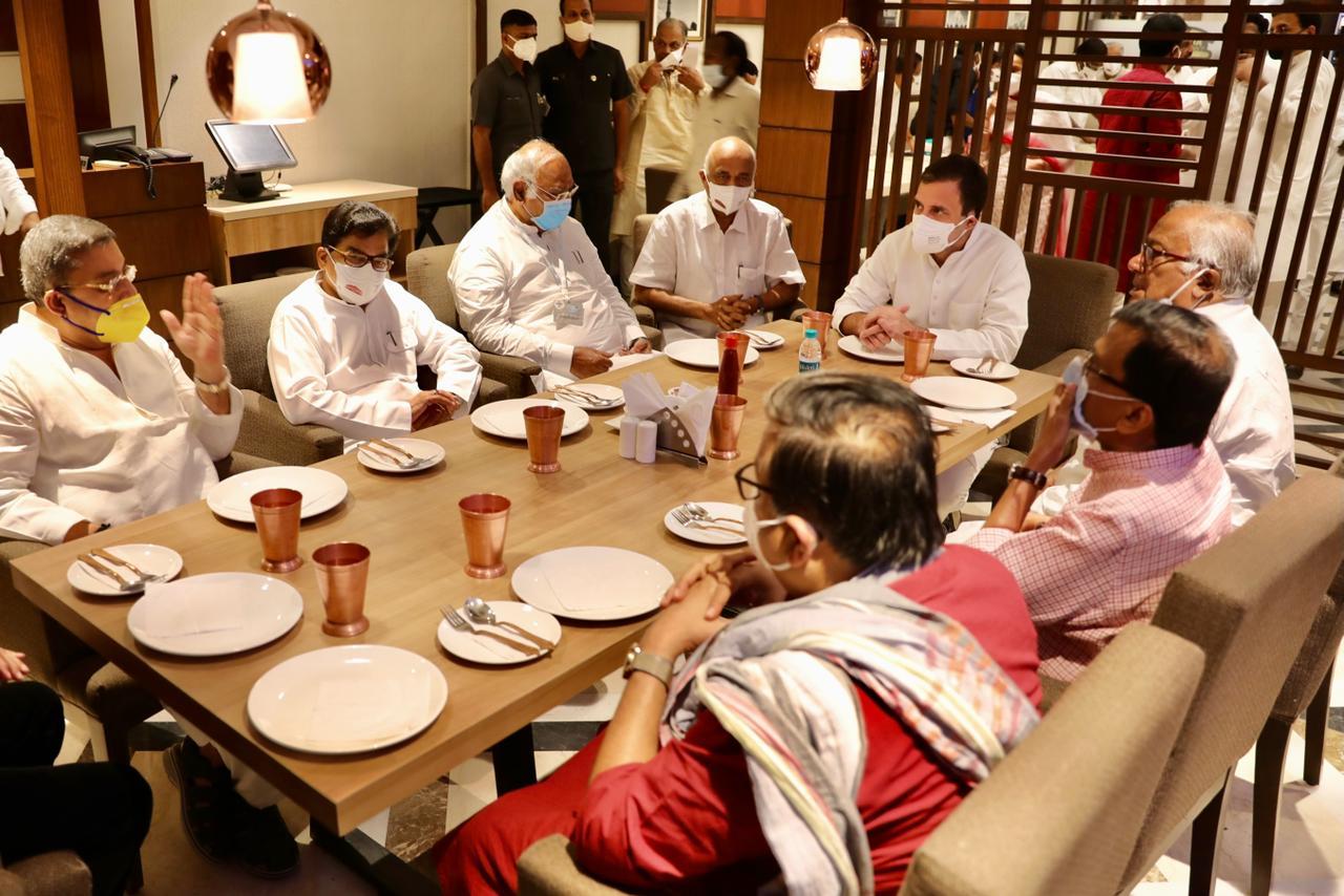 Breakfast with Rahul Gandhi