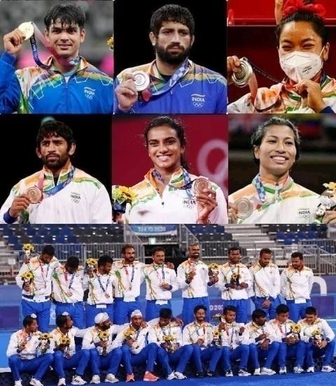 India's 7 Stars at Tokyo Olympics