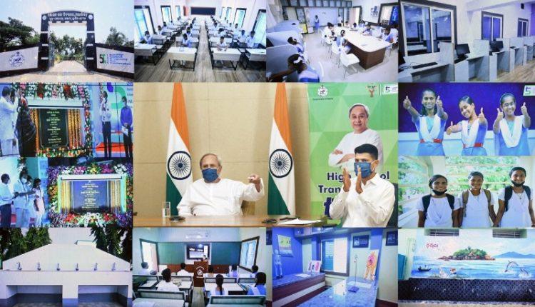 Odisha CM Naveen Patnaik inaugurates 10 more smart schools in Hinjli under State Government's ambitious 'High School Transformation' programme