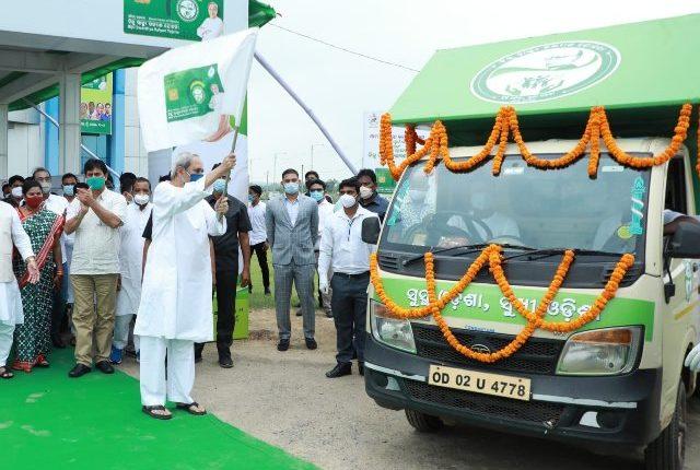 Odisha CM Naveen Patnaik inaugurates distribution of Digital Smart Health Card under BSKY