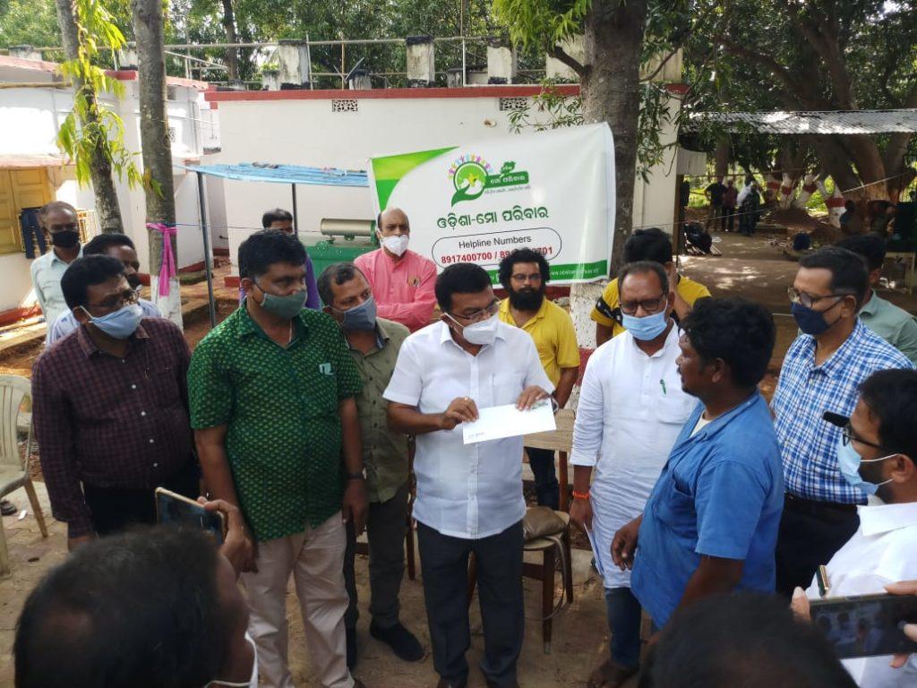 Odisha-Mo Parivar Convenor visits Gunupur; mourns Death of Odia Workers in AP