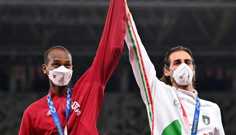 Barshim Tamberi Tokyo Olympics Gold