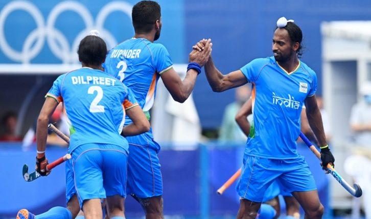 India Men's Hockey Team Bronze Olympics