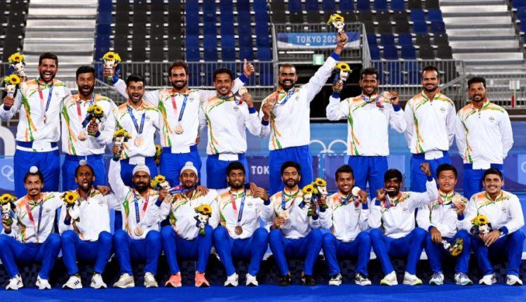 Indian Men's Hockey Team Silver Medal Tokyo Olympics