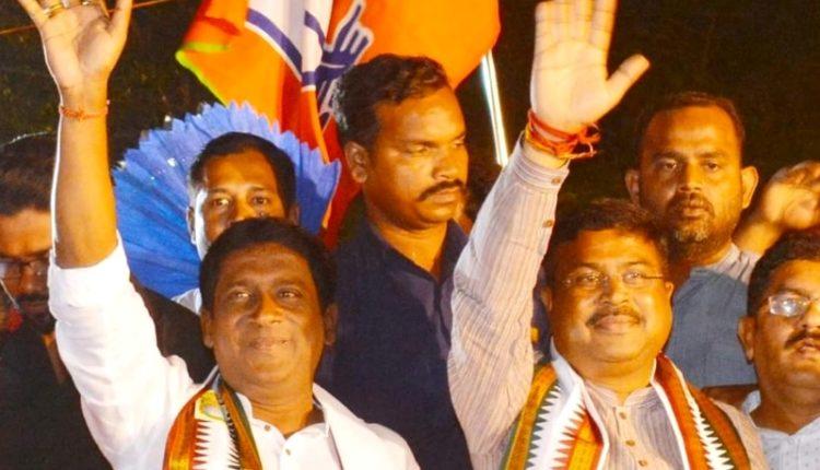 Jagannath Pradhan may join BJD