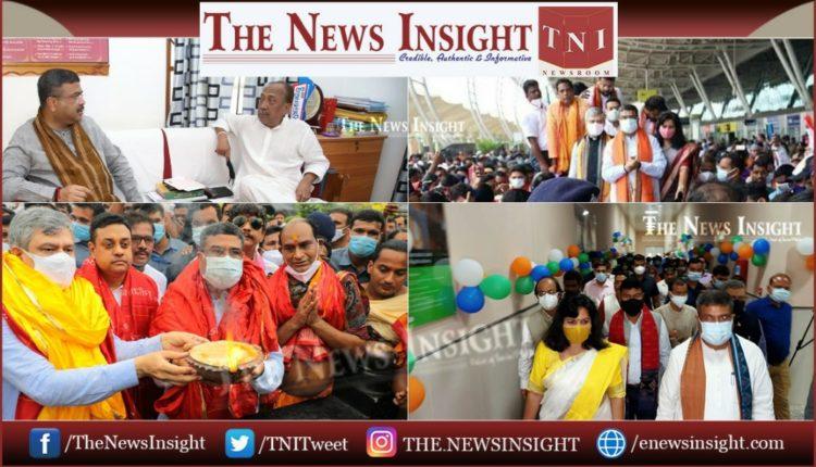 Odisha BJP Dharmendra Pradhan Ashwini Vaishnaw