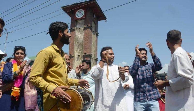 Janmashtami celebrations Lal Chowk Srinagar
