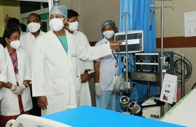 SCB Cuttack ECMO Covid-19 Odisha