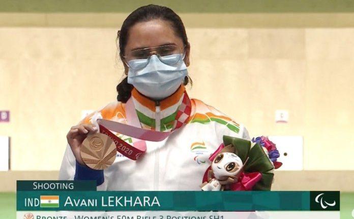 Avani Lekhara wins her 2nd Medal at Tokyo Paralympics