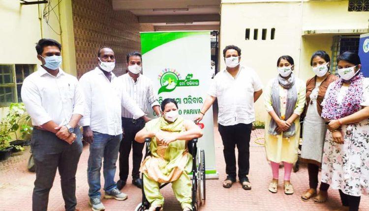 Odisha-Mo Parivar Wheelchair Lady
